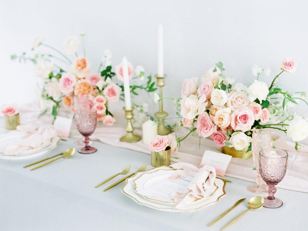 Wedding photography of decoration, wedding reception