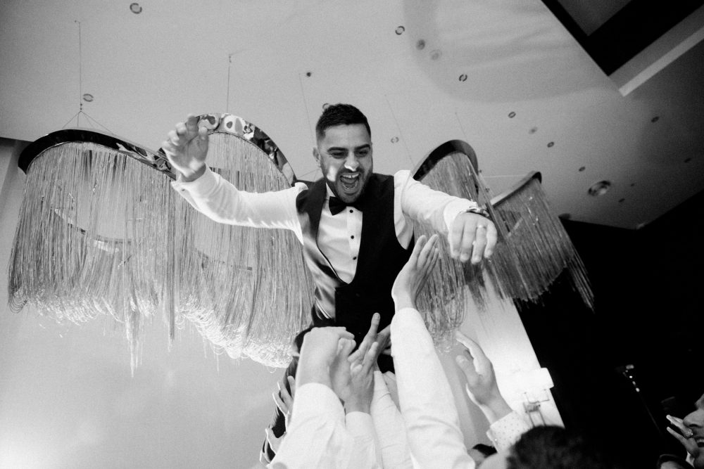 Reception dancing photos at Renaissance Westella